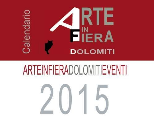 Calendario Arte in fiera Dolomiti